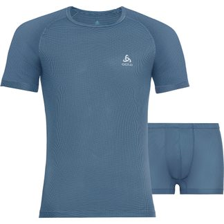 Odlo - Cubic Set Undershirt and Boxers Men china blue