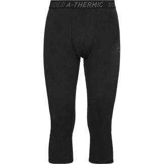 Odlo - Active Thermic Base Layer Bottoms Herren black melange
