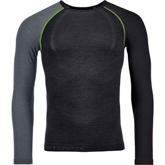 ORTOVOX - 120 Comp Light Long Sleeve Undershirt Men black raven