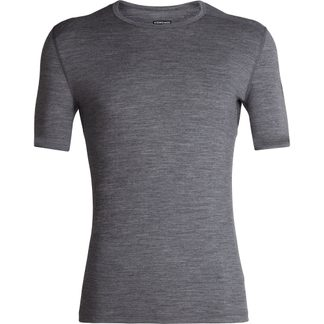 Icebreaker - 200 Oasis SS Crewe Undershirt Men gritstone heather