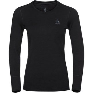 Odlo - Natural 100% Merino Longsleeve Women black