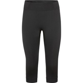 Odlo - Performance Warm Eco 3/4 Leggings Womenblack new odlo grey