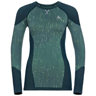Odlo - Blackcomb Longsleeve Women blue tattoo space dye