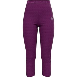 Odlo - Active Thermic 3/4 Underpants Women charisma melange