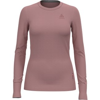 Odlo - Natural 100% Merino Warm SUW Longsleeve Women woodrose