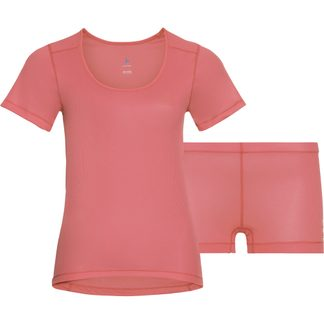 Odlo - Cubic Set Undershirt and Slip Women lantana