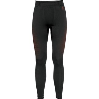Odlo - Performance Warm Eco Under Pants Men black orange