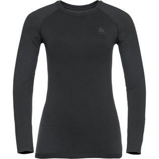 Odlo - Performance Warm Eco Longsleeve Women black new odlo grey