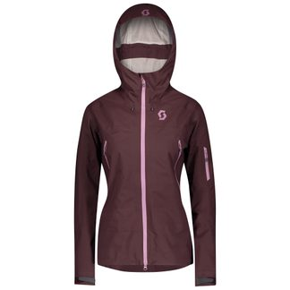 Scott - Explorair 3L Hardshelljacke Damen red fudge