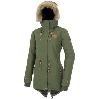 Picture - Katniss Parka Women army green