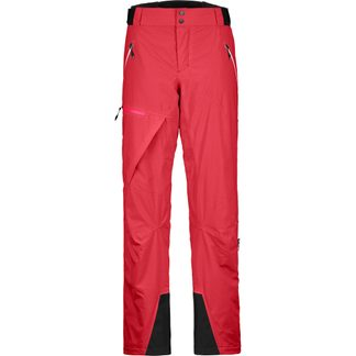 ORTOVOX - 2L Andermatt Pants Damen hot coral