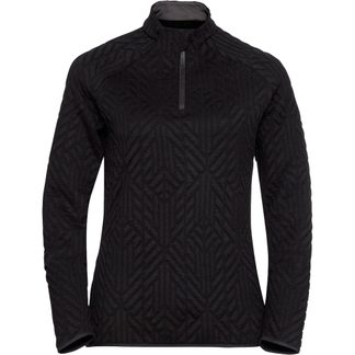 Odlo - Corviglia Kinship 1/2 Zip Midlayer Women black