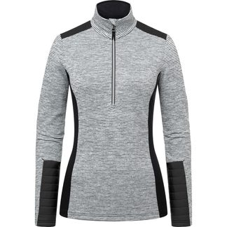 KJUS - Forun Midlayer Half-Zip Damen white mel black