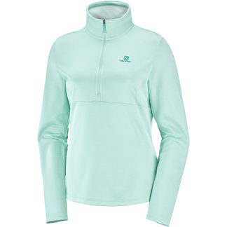 Salomon - Transition Half Zip Midlayer Women icy morn heather