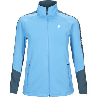 Peak Performance - Rider Zip Jacket Women blue elevation