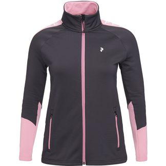 Peak Performance - Rider Zip Softshelljacke Damen iron cast