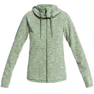 Roxy - Electric Feeling Fleece Hoodie Women bronze green