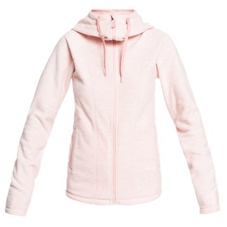 Roxy - Electric Feeling Fleece Hoodie Women silver pink