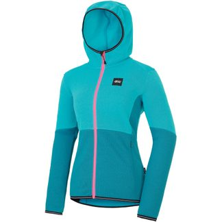 Picture - Moder Midlayerjacke Damen light blue