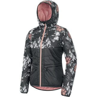 Picture - Kallya Isolationsjacke Damen peonies black