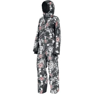 Picture - Xena Suit Ski Overall Women peonies black