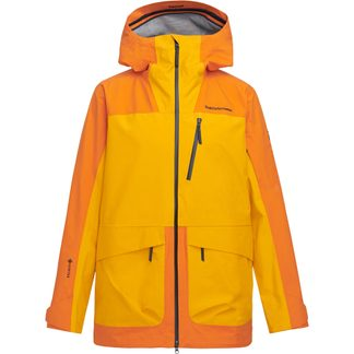 Peak Performance - Vertical 3L Hardshell-Jacke Herren orange altitude