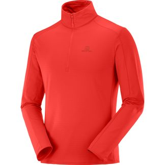 Salomon - Outrack Half Zip Midllayer Men goji berry