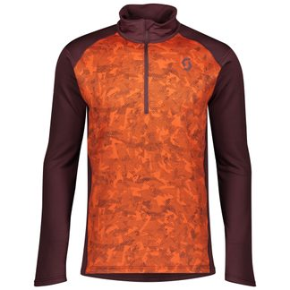 Scott - Defined Light Pullover Herren red fudge orange pumpkin