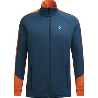 Peak Performance - Rider Zip Jacket Men blue steel