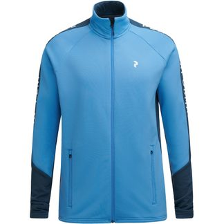 Peak Performance - Rider Zip Jacket Men blue elevation