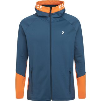 Peak Performance - Rider Zip Hood Men blue steel