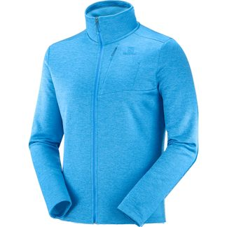 Salomon - Transition Full Zip Midlayer Herren blithe heather