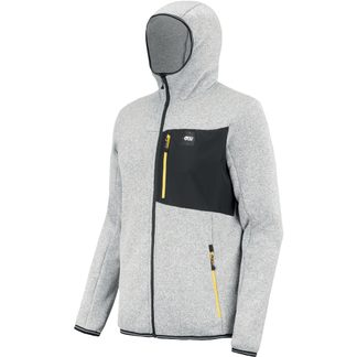 Picture - Marco Midlayer Jacket Men grey melange