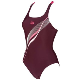 Arena - Harmonius Sport Badeanzug Damen red wine freak rose