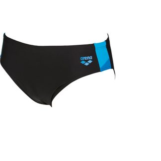 Arena - Ren Brief Swim Trunks Men black pix blue turquoise