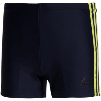 adidas - 3-Stripes Swim Boxers Men legend ink semi solar slime