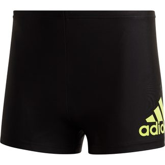adidas - Badge of Sports Swim Fitness Boxers Men black semi solar slime