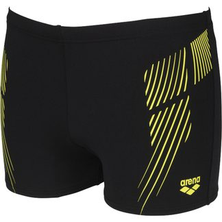 Arena - Streak Short Swim Trunks Men black-soft green