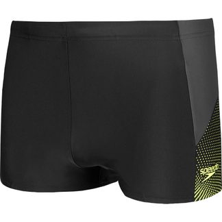 Speedo - Dive Aquashorts Men black oxid grey fluo yellow