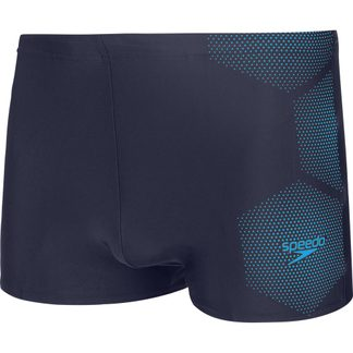 Speedo - Tech Placement Aquashorts Men tech black fluo yellow