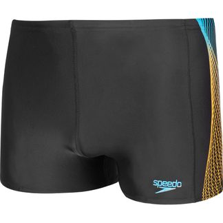 Speedo - Tech Panel Aquashorts Men black mango pool