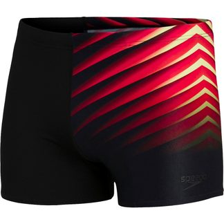 Speedo - Placement Aquashort Men black dragonfire orange