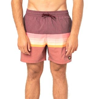 Rip Curl - Layered Volley Boardshorts Men washed red