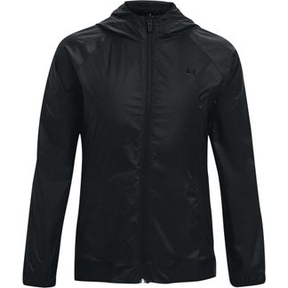 Under Armour - Woven Reversible Hooded Jacket Women black