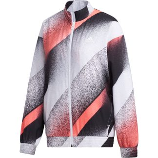adidas - Unleash Confidence Woven Track Top Women white signal pink black