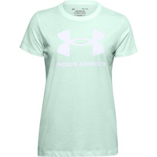 Under Armour - Live Sportstyle Graphic T-Shirt Women seaglass blue