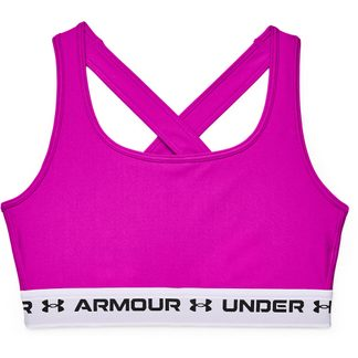 Under Armour - Armour® Mid Crossback Sports Bra Women meteor pink