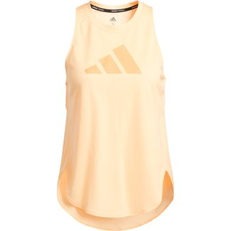 adidas - Badge of Sport Tank Top Women acid orange true orange