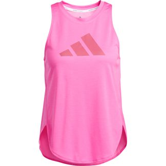 adidas - Badge of Sport Tank Top Women screaming pink wild pink