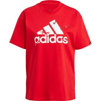 adidas - Valentine Graphic T-shirt Women scarlet